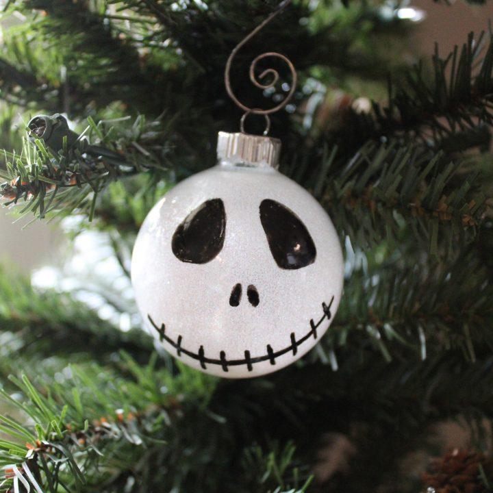 DIY Jack Skellington Ornament