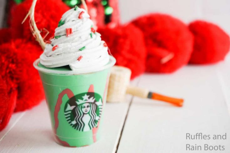 Holiday Frappuccino Starbucks Ornament