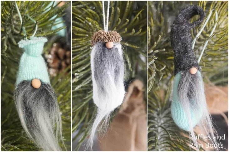 Mini Gnome Ornaments