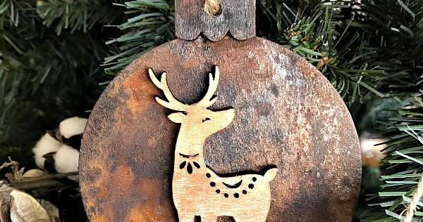 "DIY ""Rust""ic Ornaments"