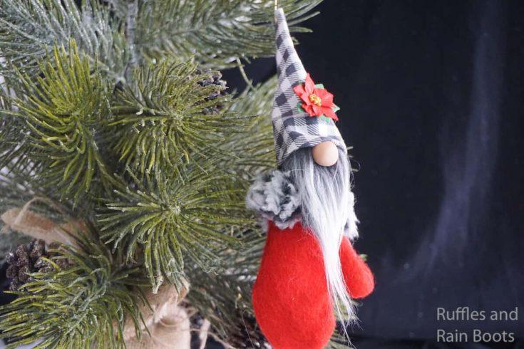 Mitten Gnome Ornament