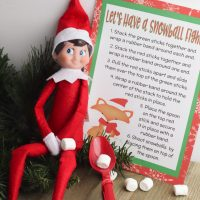 Elf on the Shelf Idea: Make Your Own Catapult