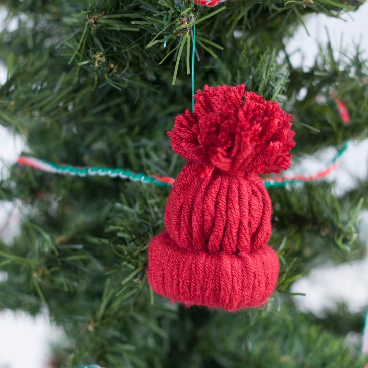 DIY Winter Hat Ornament