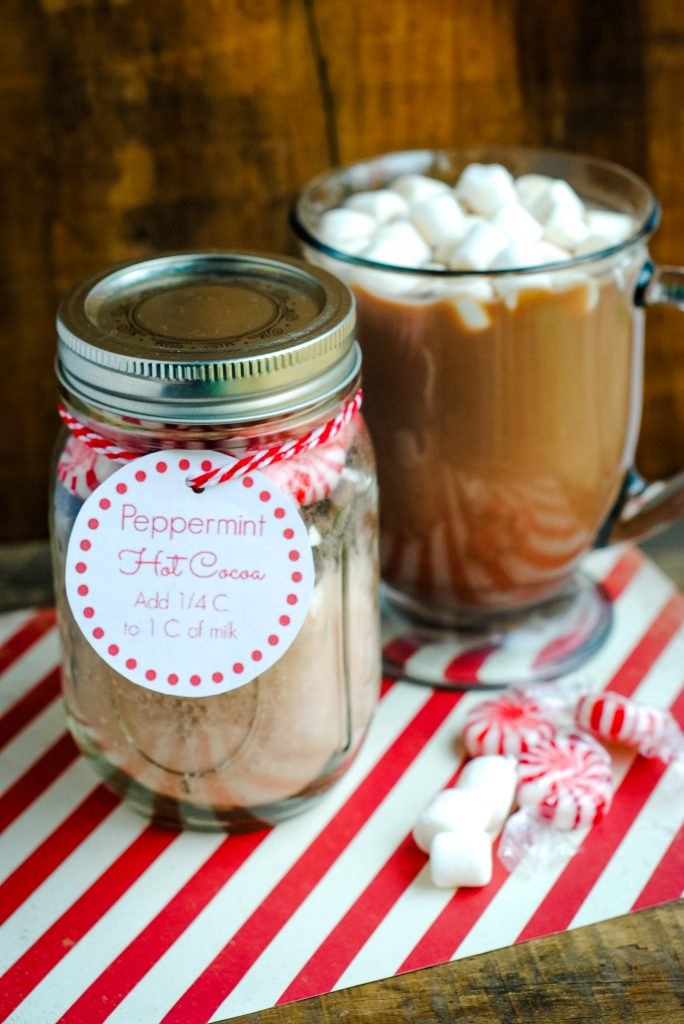 Christmas gifts are fun to give, but when you have to think of ideas for teachers, for coworkers, and for friends- it adds up fast. This easy DIY Gift in a Jar recipe is a great- and cheap- way to give a small food gift to those you love at the holidays. {It's great for women and even for teens!}