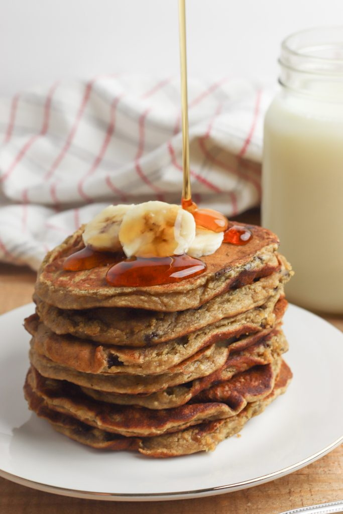 Who doesn't love homemade pancakes from scratch on a weekend morning? These <a href=