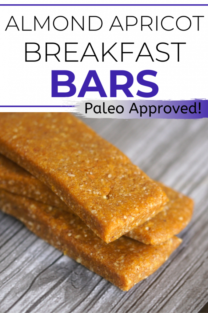 I love to spend Sundays in the kitchen doing meal prep for food for the week. One of the best recipes for breakfast bars is this DIY homemade Almond Apricot Breakfast Bar recipe! These protein packed bars are full of fruit and protein and make a great healthy snack- oh and they're easy and no bake!