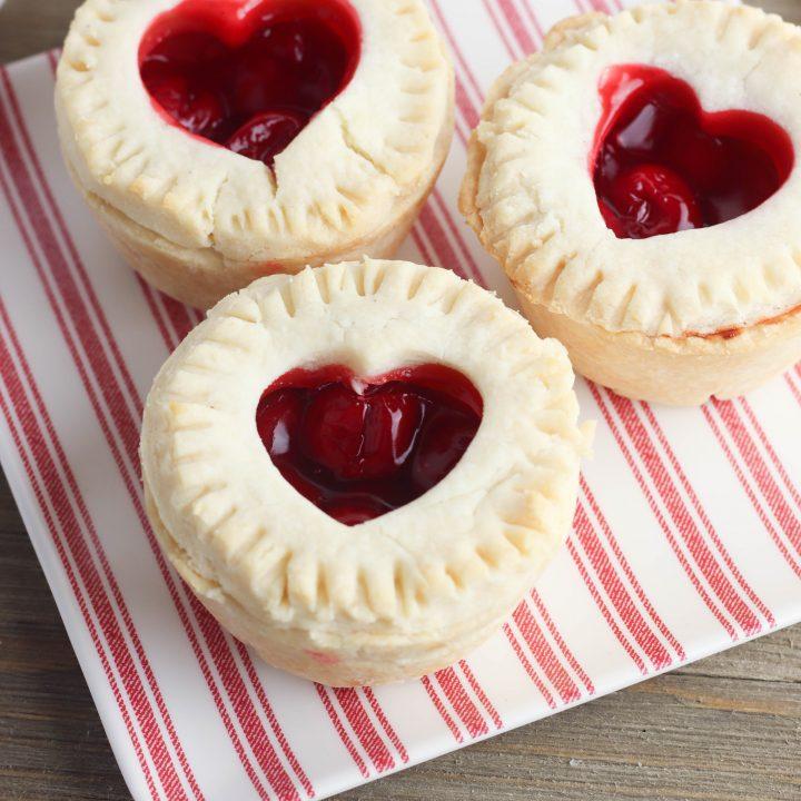 Gluten-Free Mini Cherry Pies