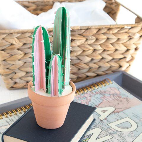 Paper Cactus Cricut Craft