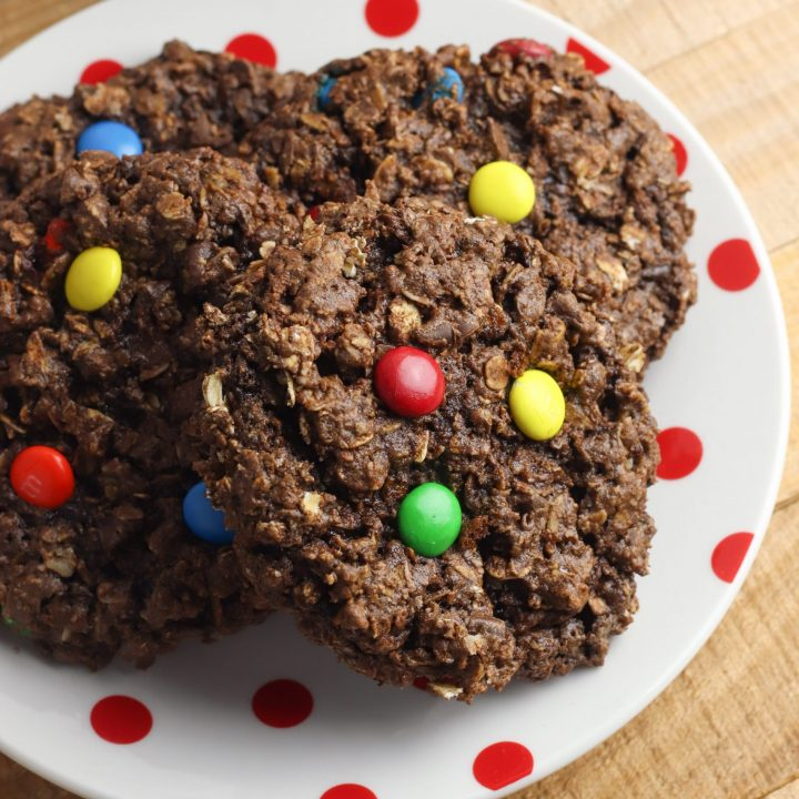 Nutella Monster Cookies