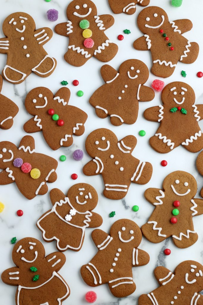 How To Make Gingerbread Man Cookies Gingerbread Cookies Recipe Not Quite Susie Homemaker