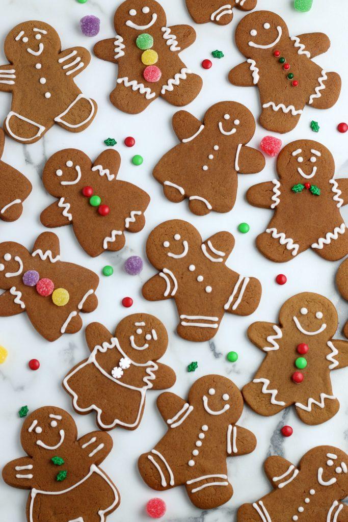 How To Make Gingerbread Man Cookies Gingerbread Cookies Recipe Not Quite Susie Homemaker