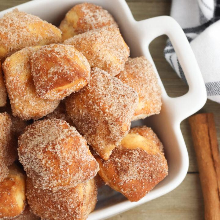 Air Fryer Biscuit Donut Bites